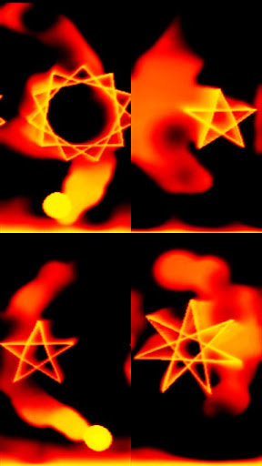 Burning Flame Live Wallpaper