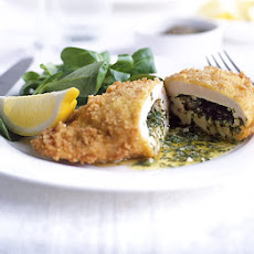 Modern-day chicken Kiev