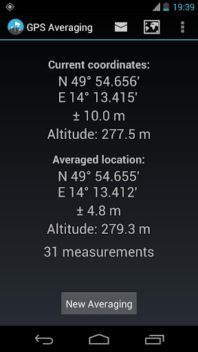 GPS Averaging