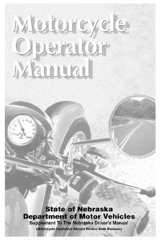 Nebraska Motorcycle Manual