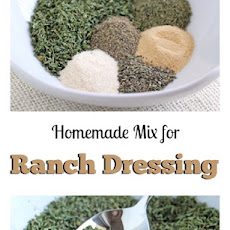Homemade Ranch Dressing Seasoning Mix