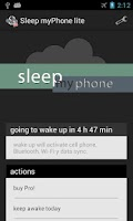Screenshot of Sleep myPhone lite