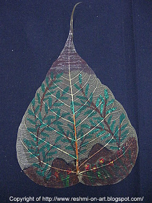 Painitng-Banyan-Leaf