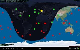 Screenshot of SpaceSim-GPS