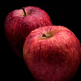 Pair of Apples. by Rakesh Syal - Food & Drink Fruits & Vegetables (  )