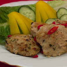 Baked Thai Chicken Cakes