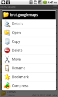Screenshot of File Manager Pro