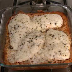 Baked Italian Chicken and Pasta
