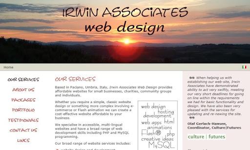 Irwin Associates Web Design