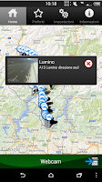 Screenshot of Viabilità Ticino
