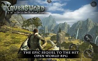 Screenshot of Ravensword: Shadowlands 3d RPG