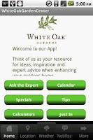 Screenshot of White Oaks Gardens
