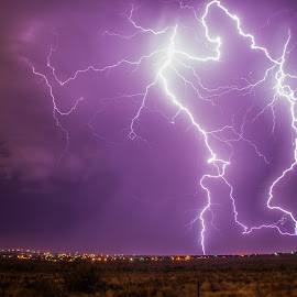 Let's Dance by Brandon Green - Landscapes Weather ( lightning, texas, weather, storm chasing, night, storm )