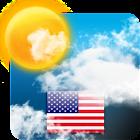 USA Weather forecast icon