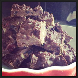 Chocolate Tiffin (Fridge Cake)