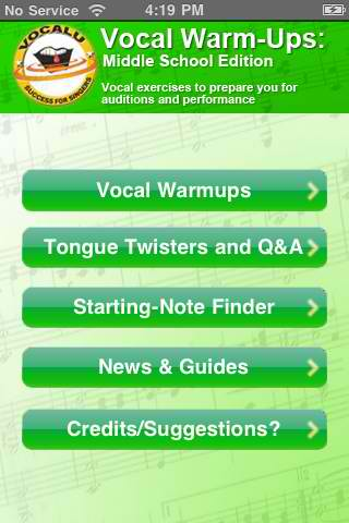 Vocal Warmups for Kids