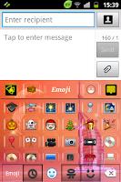 Screenshot of Dubai Colors Keyboard