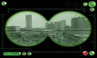 Screenshot of Spynoculars - Night Vision Cam