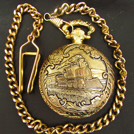 Grand daddy's Pocket Watch by Christine Keaton - Artistic Objects Antiques (  )