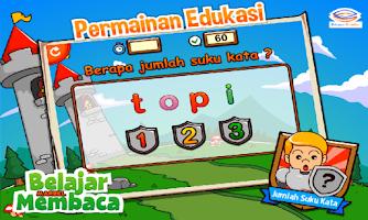 Screenshot of Marbel Belajar Membaca