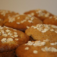 Incredible Oat Bran Muffins, Plain, Blueberry or Banana