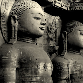 Teerthankars by Pranjal Jain - Buildings & Architecture Statues & Monuments ( monuments, statues, india, jainism,  )