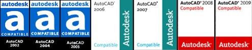 Versiones de AutoCAD - 01