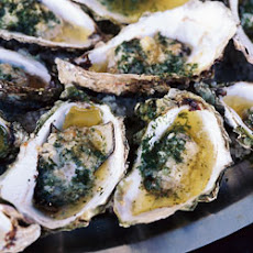 Broiled Stuffed Oysters