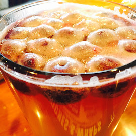 Blueberry beer by Ashley Burdette - Food & Drink Alcohol & Drinks ( beer blueberries alcohol drinks )