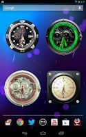 Screenshot of Analog Clock Wallpaper/Widget