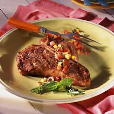 Mediterranean Grilled Steaks With Antipasto Salsa
