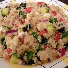 Quinoa Greek Salad