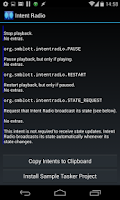 Screenshot of Intent Radio