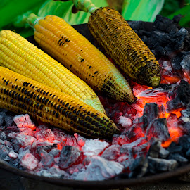 Burnt Corn by Aditya Bugadi - Food & Drink Cooking & Baking (  )