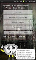 Screenshot of Horrorology - Horror Trivia