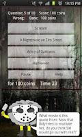 Screenshot of Horrorology - Horror Trivia