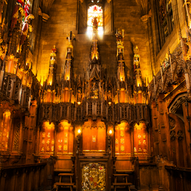 Thistle Chapel, St Giles by Don Alexander Lumsden - Buildings & Architecture Places of Worship