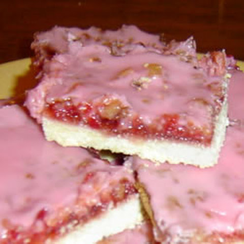 Gooey Cherry Bars