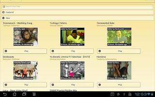Screenshot of DireTube