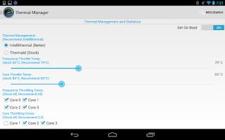 Screenshot of Faux123 Kernel Enhancement Pro