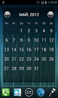 Screenshot of Julls' Calendar Widget Lite