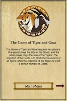 Screenshot of Tiger and Goat