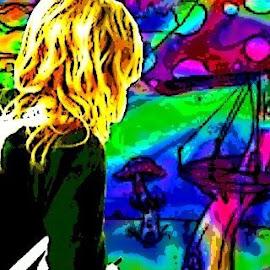 Alice in Mushroomland by Kate Mana - Digital Art People