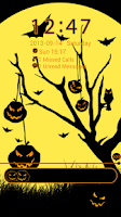 Screenshot of GO Locker Theme Halloween