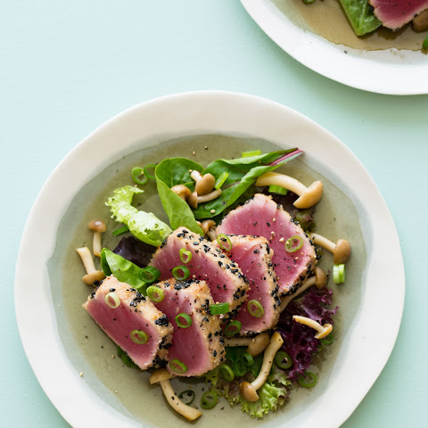 Black Sesame & Almond Crusted Ahi Tuna