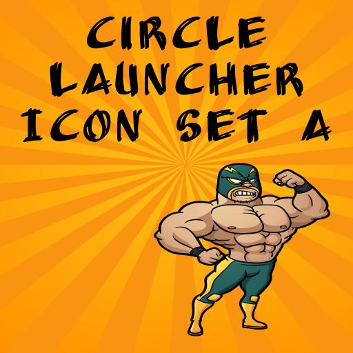 Icon Set A ADW/Circle Launcher LOGO-APP點子
