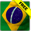 Brasil flag free livewallpaper icon