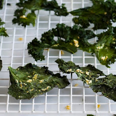Kale Chips with Lemon and Ginger from 'Salty Snacks'