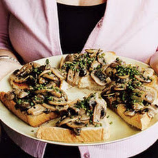 Mamy's Mushrooms on Toast