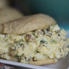 Bacon Jalapeño Egg Salad Sandwiches